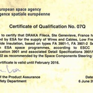 ESA ponownie zaufała marce Draka Fileca